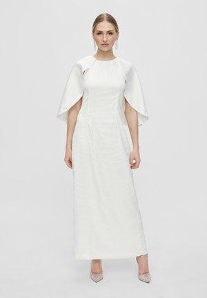 Długa sukienka - star white