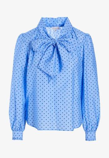 LE NS (CO) - Blouse - dot blue