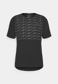 Nike Performance - RUN DIVISION RISE 365 - Print T-shirt - black/reflective silver - 4
