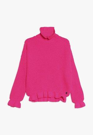 MARINA - Svetr - neon pink