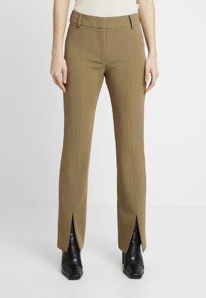 MARION TROUSERS - Pantalones - green khaki