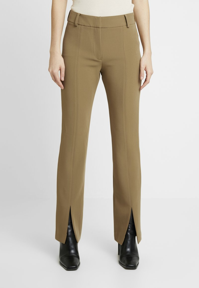 Samsøe Samsøe - MARION TROUSERS - Trousers - green khaki