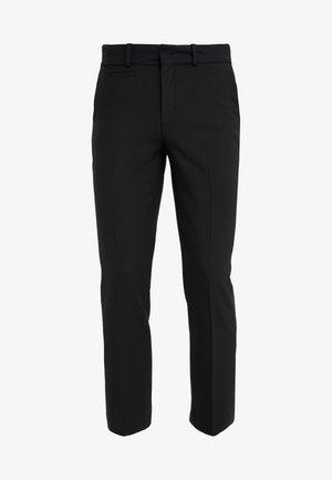 SIDE - Trousers - black