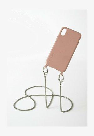 IPHONE X / XS - BIOLOGISCH ABBAUBAR - SAND SNAKE SILBER - Phone case - silberfarben