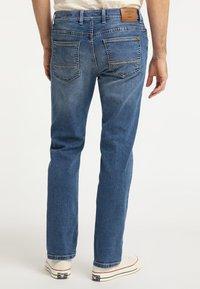 Pioneer Authentic Jeans - RANDO - Straight leg jeans - stone blue denim - 2
