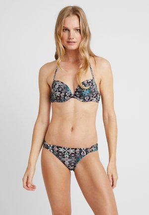 PUSH UP SET - Bikini - black-print