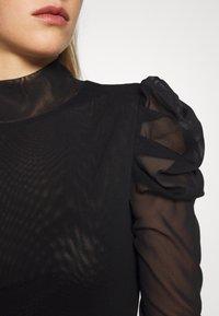 Diane von Furstenberg - NEW REMY - Long sleeved top - black - 5