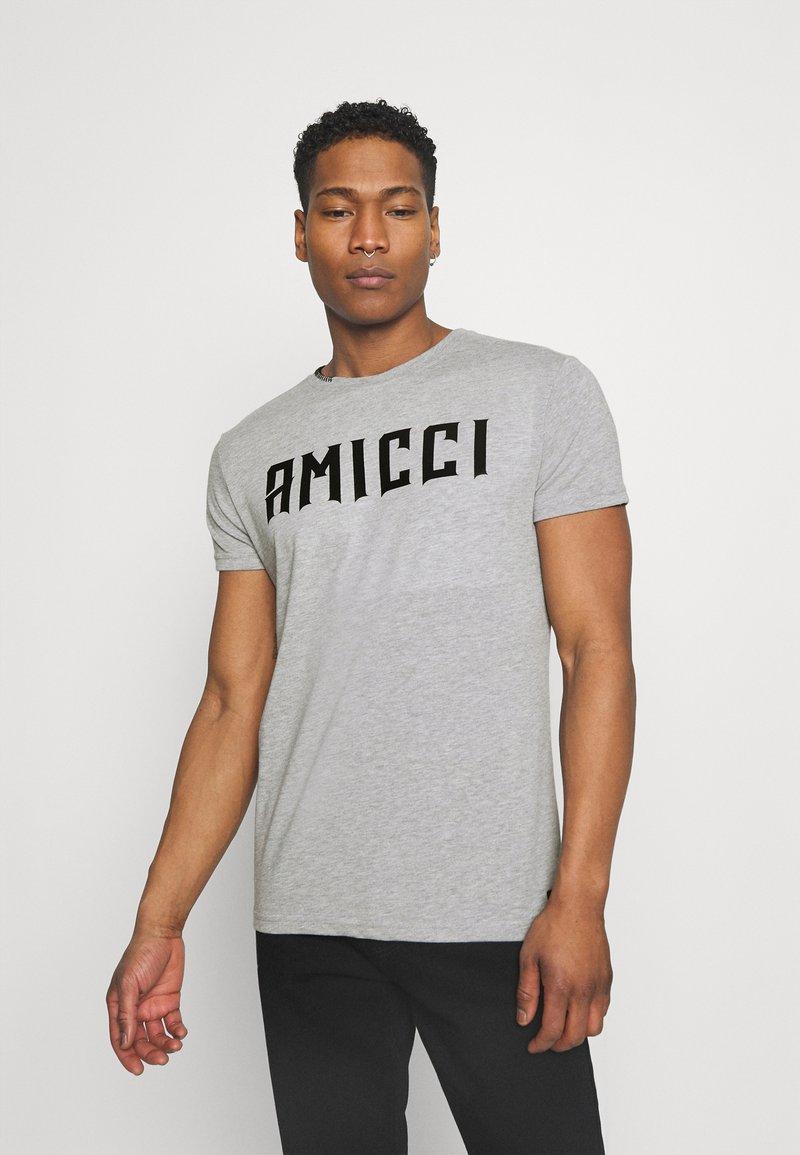 AMICCI - FORLO - Printtipaita - grey