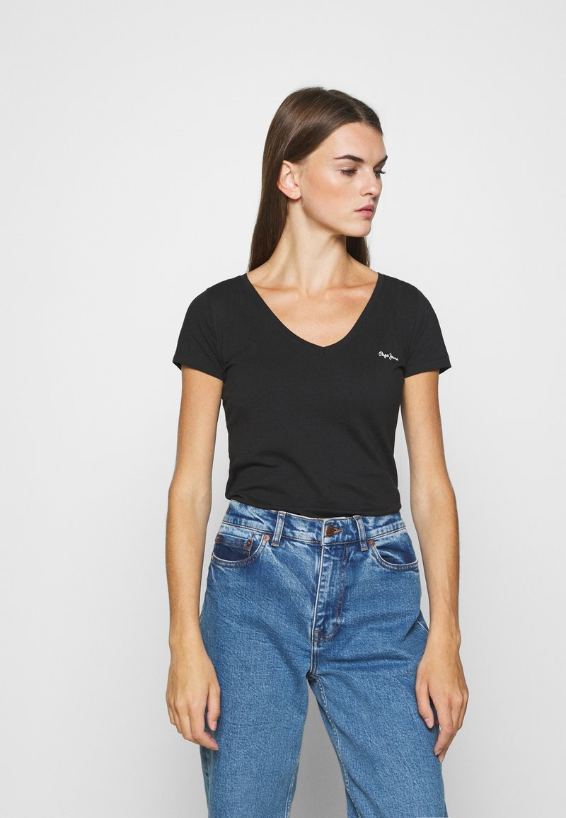 Pepe Jeans - BEA 2 PACK - T-shirt basic - black