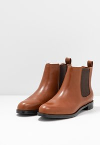 Lauren Ralph Lauren - SIGNATURE HAANA - Ankle boots - deep saddle tan - 4
