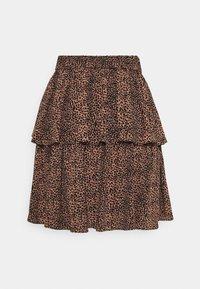YAS - SKIRT - Mini skirt - mocha mousse - 1