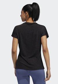 adidas Performance - BADGE OF SPORT T-SHIRT - Print T-shirt - black - 1