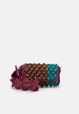BAGUETTE PUNTO NOCCIOLA - Across body bag - purple