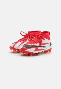 Nike Performance - MERCURIAL 8 ACADEMY CR7 AG UNISEX - Moulded stud football boots - chile red/black/white/total orange - 1