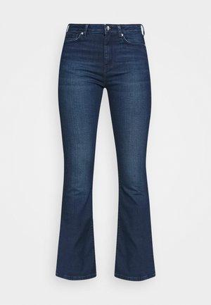 DUA LIPA X PEPE JEANS - Flared Jeans - dark blue