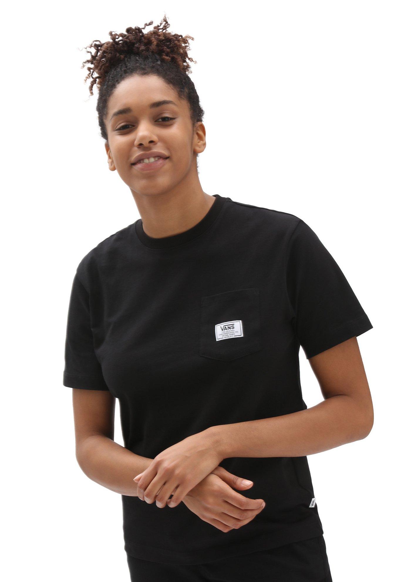Damen WM CLASSIC PATCH POCKET - T-Shirt print