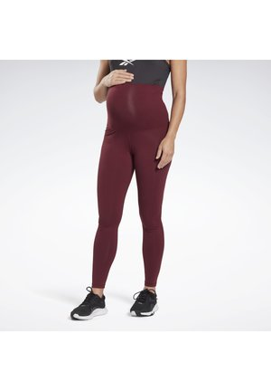 Y LUX 2.0MATERNITY TIGHT - Leggings - maroon