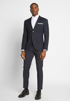 BIRDSEYE SUIT - Suit - dark blue