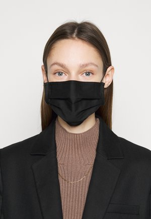 FACE MASK UNISEX - Kasvomaski - black