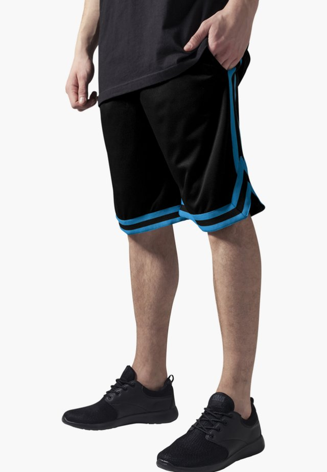 STRIPES - Pantaloni sportivi - black, blue