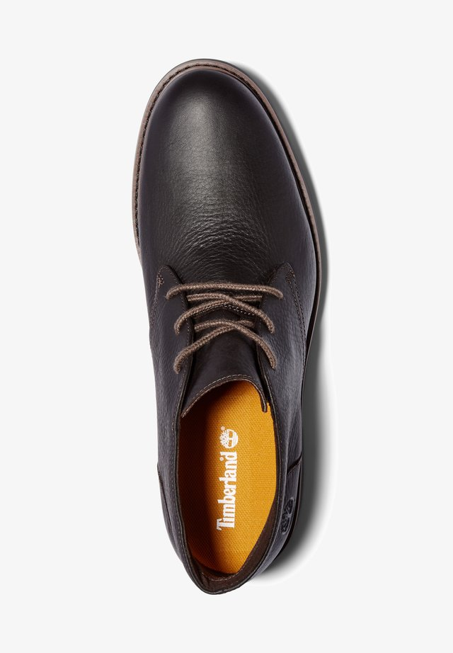 EARTHKEEPERS STORMBUCKS - Botines con cordones - dk brown full grain