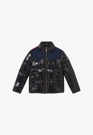 SHINY YOKE PUFFER - Winterjas - black