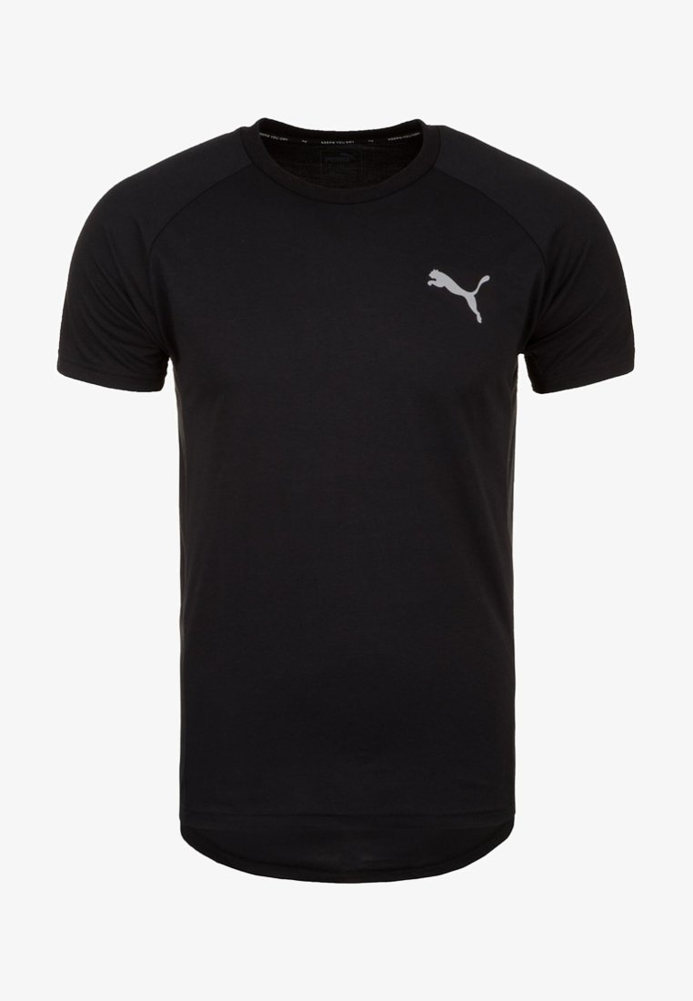 Puma - EVOSTRIPE  - T-Shirt basic - black