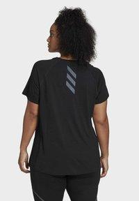 adidas Performance - ADI RUNNER TEE - Basic T-shirt - black - 2