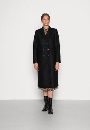 EMMA - Klasyczny płaszcz - black