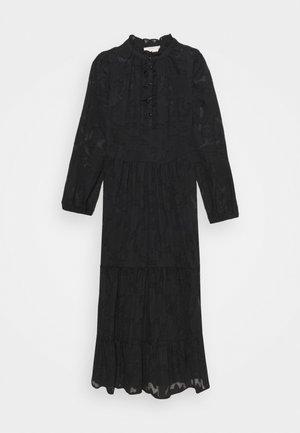 CRJELENA DRESS 2-IN-1 - Shirt dress - pitch black