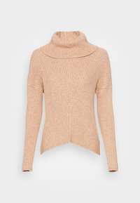 ONLY - ONLKATIA COWLNECK - Jumper - toasted coconut - 3