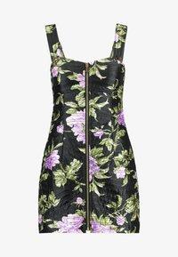 Alice McCall - WILD FLOWERS MINI - Denní šaty - black - 4