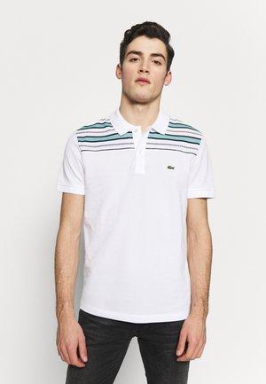 PH5101-00 - Polo shirt - white/navy blue/niagara blue