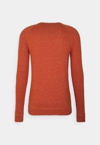 Denham - RAGLAN CREW - Jumper - cinnamon stick orange - 1