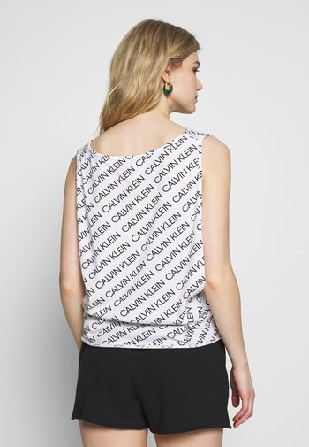 SIDE KNOTTED TANK PRINT
