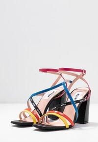 MSGM - DONNA WOMANS - High heeled sandals - multicolor/black - 4