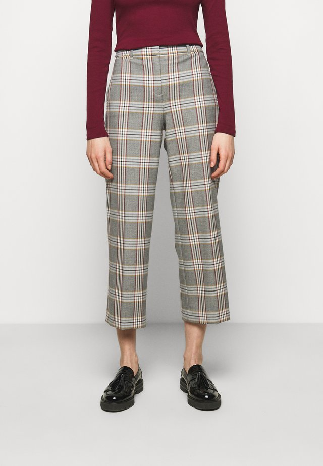 PEYTON PANT IN PLAID - Broek - bronzed ochre/rust