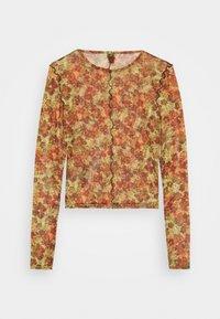 BDG Urban Outfitters - LEAVES CROP - Topper langermet - orange - 1