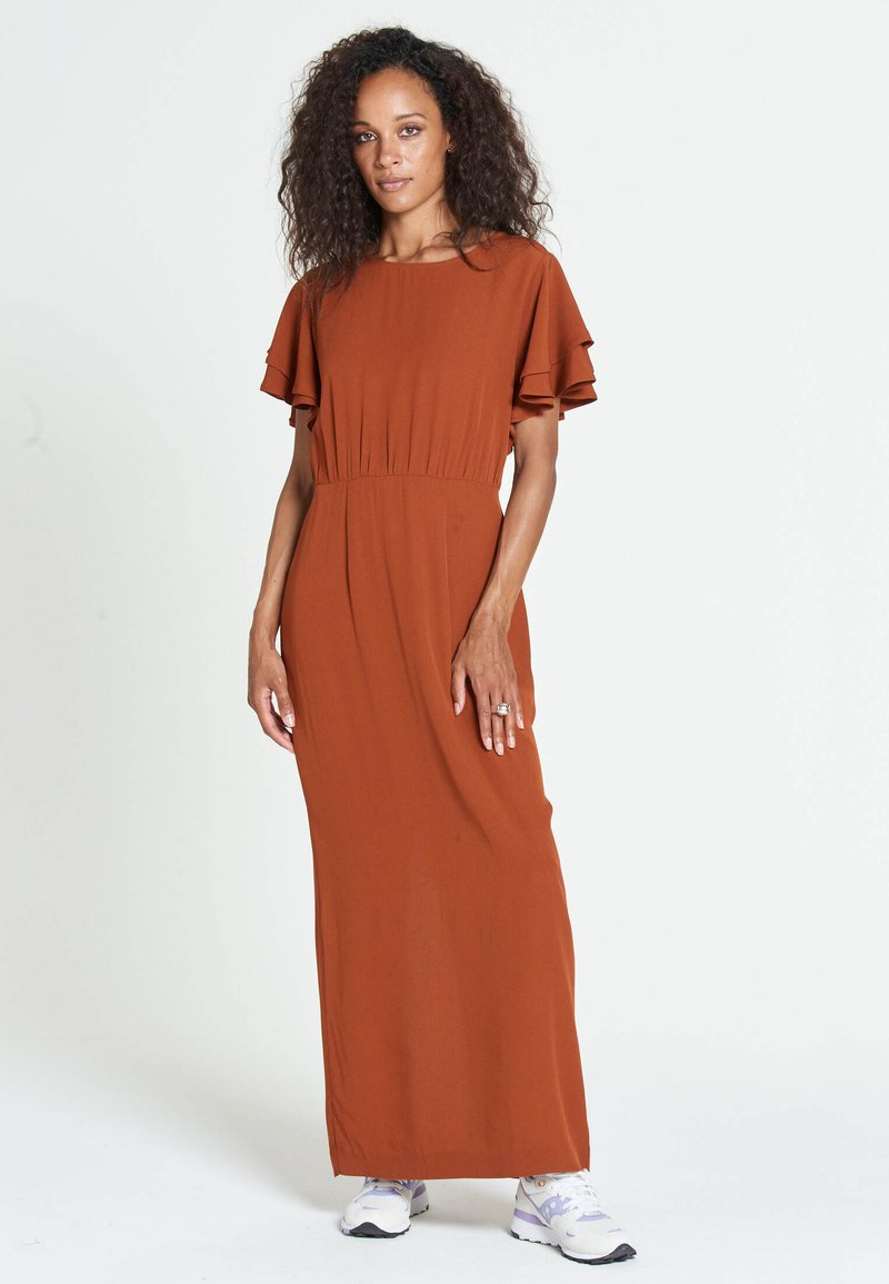 Jascha Stockholm - JUSTISE LUX - Maxi dress - brown