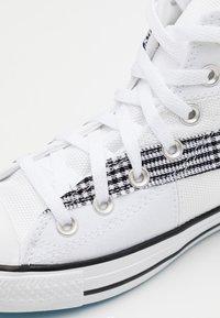 Converse - CHUCK TAYLOR ALL STAR - Baskets montantes - white/black/sail blue - 5