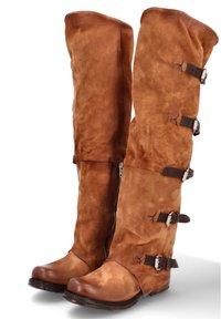 A.S.98 - Cowboy/Biker boots - calvados - 1