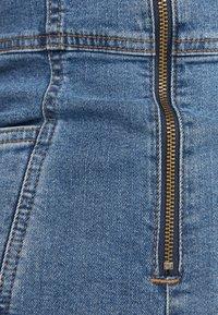 Bershka - Overall / Jumpsuit /Buksedragter - blue denim - 5