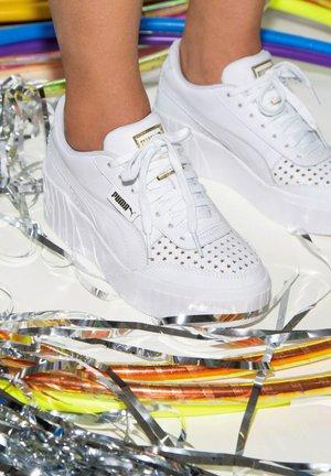 X CHARLOTTE OLYMPIA CALI - Baskets basses - white white