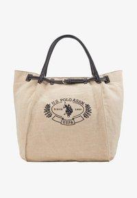 U.S. Polo Assn. - ELMORE - Tote bag - natural/black - 4