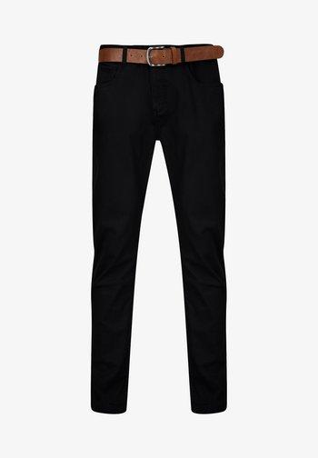 GEORGIA - Trousers - black