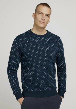 Sweatshirt - sky navy corn design