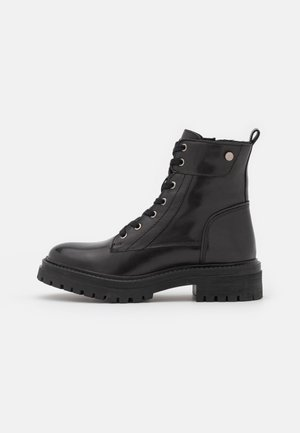 IRIDEA - Lace-up ankle boots - black