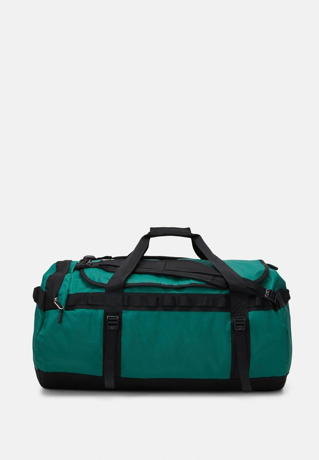 BASE CAMP DUFFEL L UNISEX - Valigia - evergreen/black