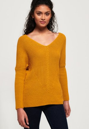 CORA - Jumper - yellow