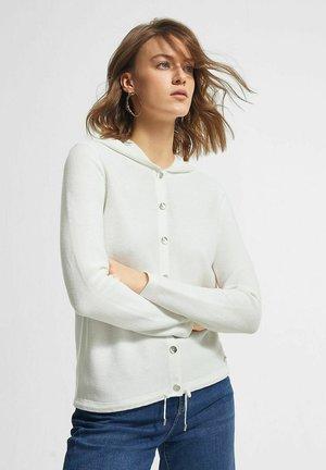 LANGARM - Cardigan - off white